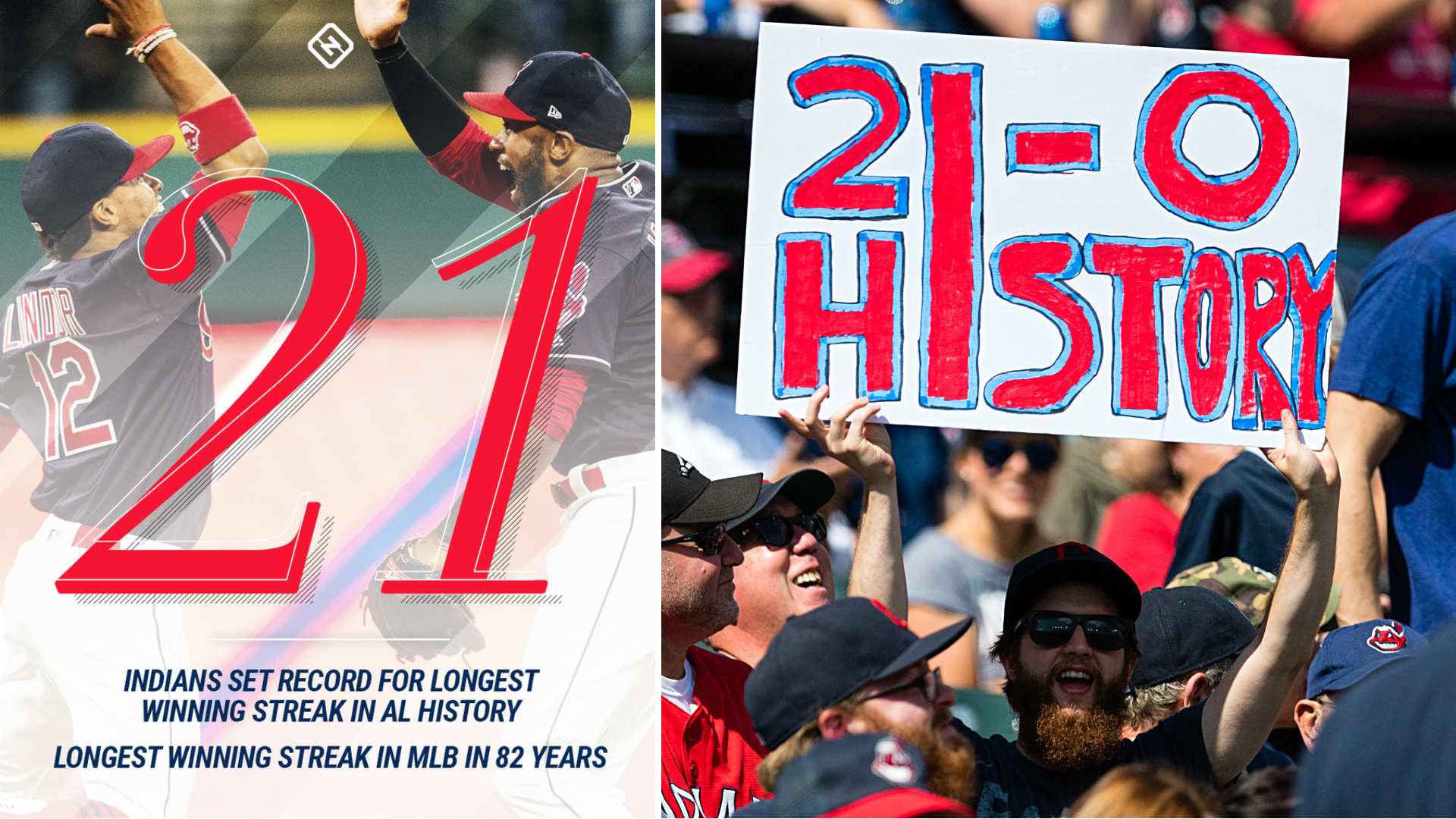 Comparing Indians' 22-game win streak to other historic runs   Sporting News