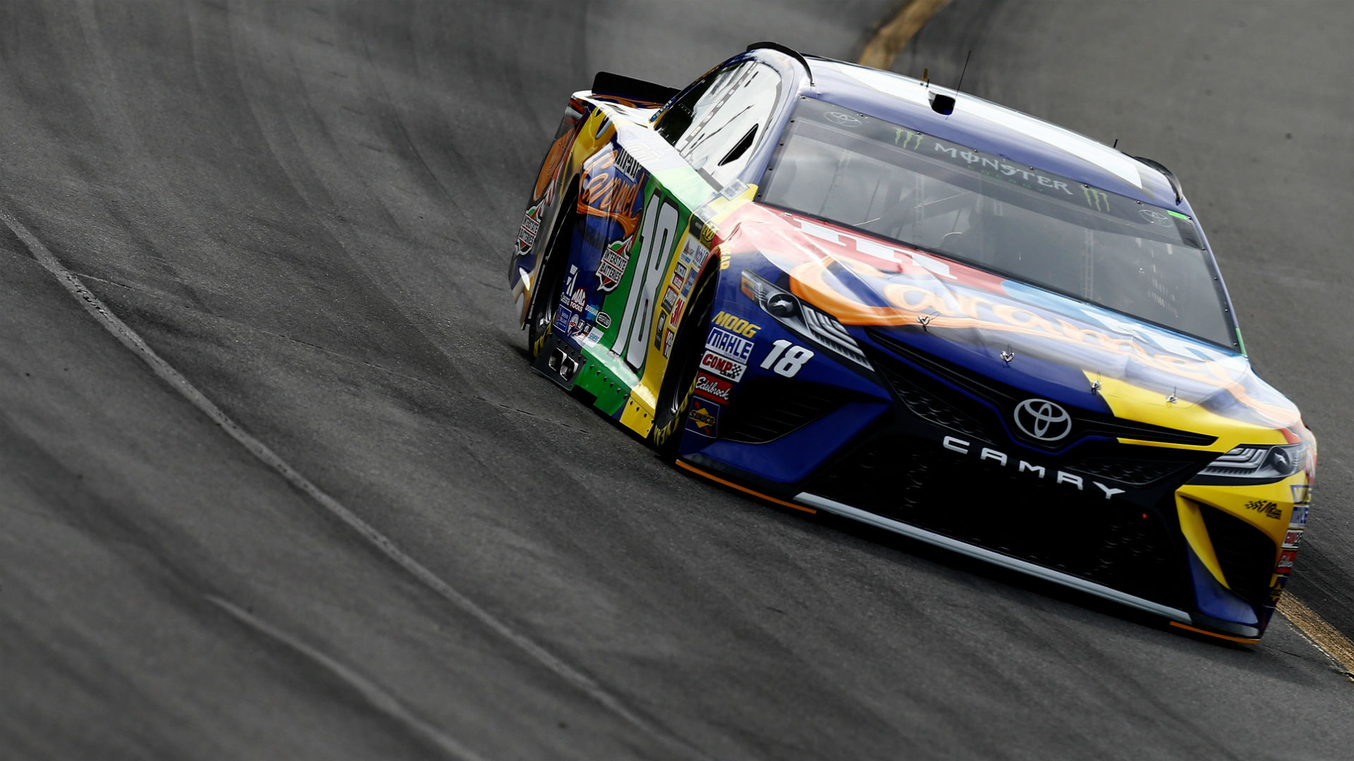 Nascar at pocono results kyle busch snaps winless streak cruises to victory at overton s 400 nascar sporting news