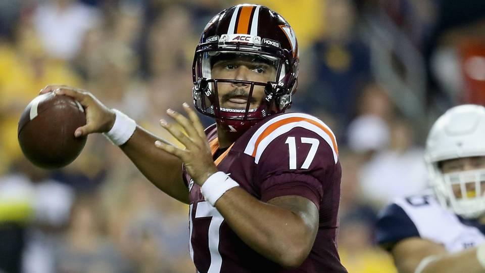 Virginia Tech QB looks ahead to season