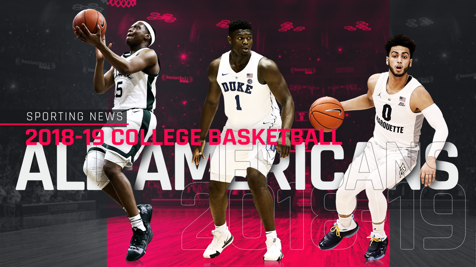 a16e6d5cac66a2 Sporting News  2018-19 college basketball All-Americans