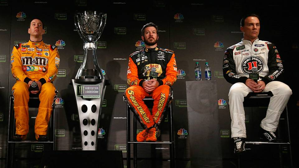 Can one of NASCAR's Big Three cap off the season with a second title?