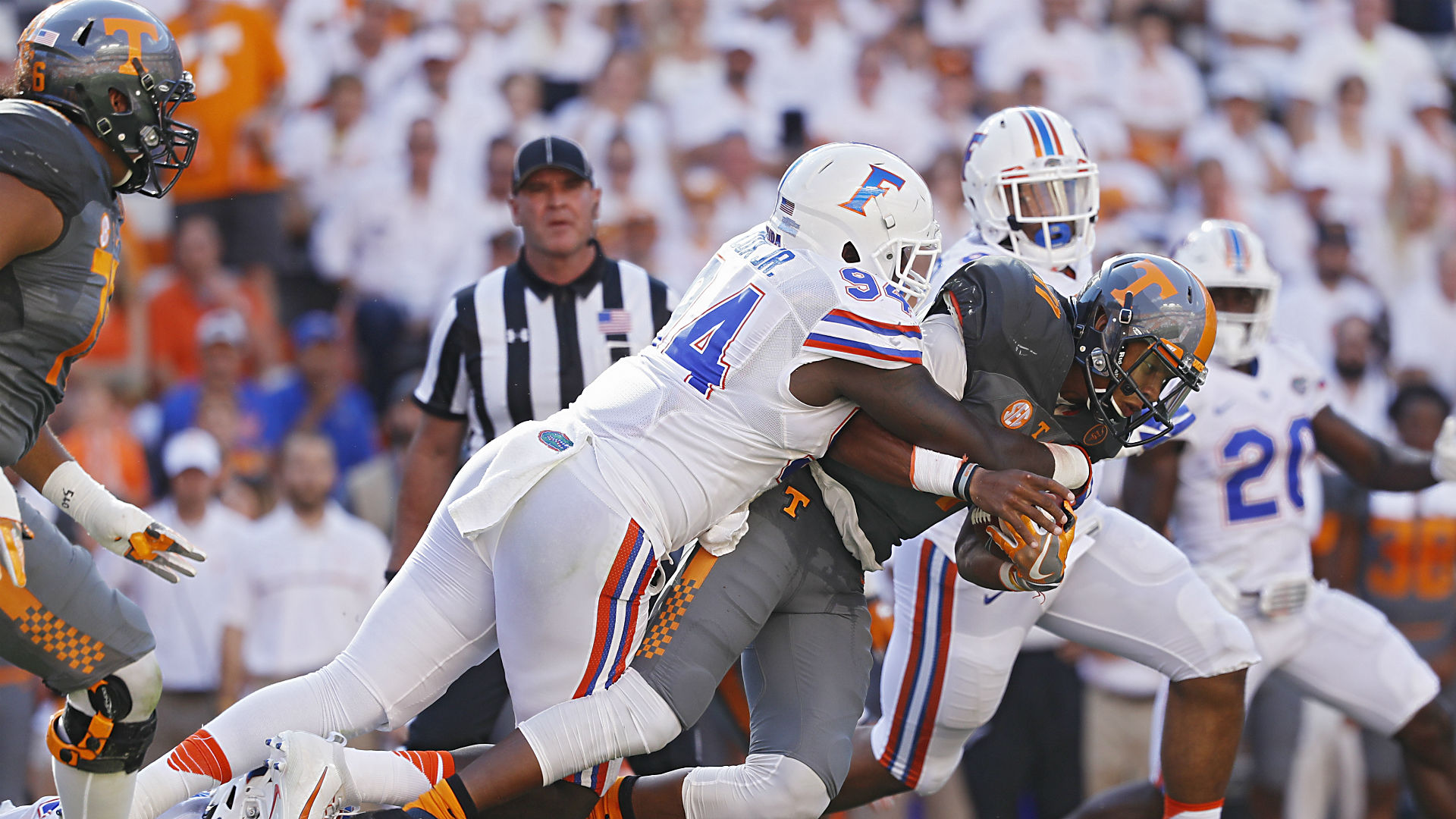 SEC: Tennessee holds on to beat Florida