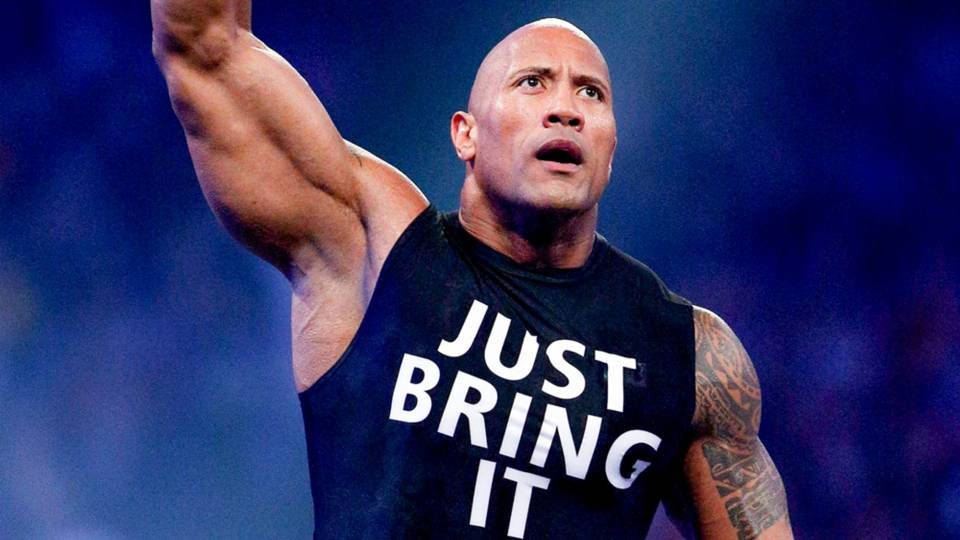 The Rock returns to WWE 'Raw,' lays the smackdown on The New Day