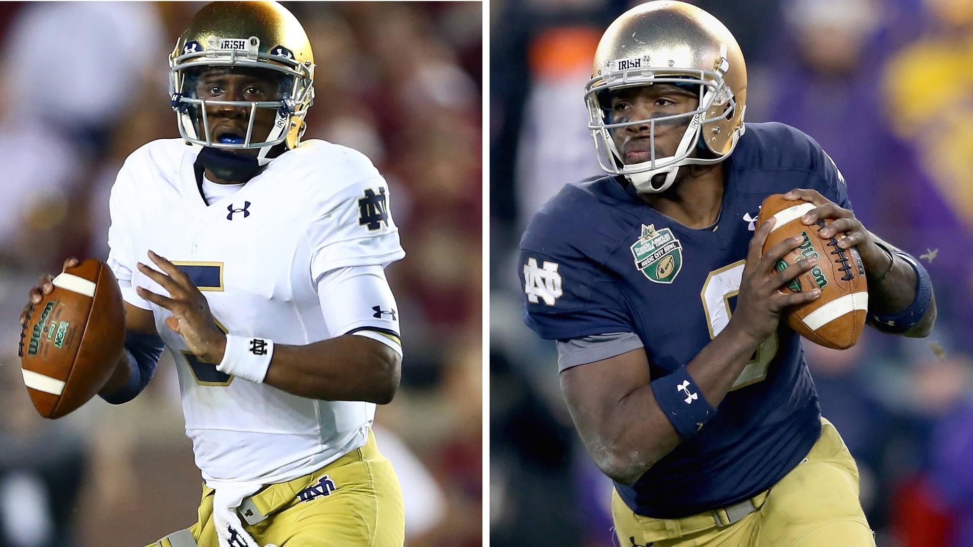 Saturday's games: Penn State O-line, Irish QBs, Auburn RBs on our radar
