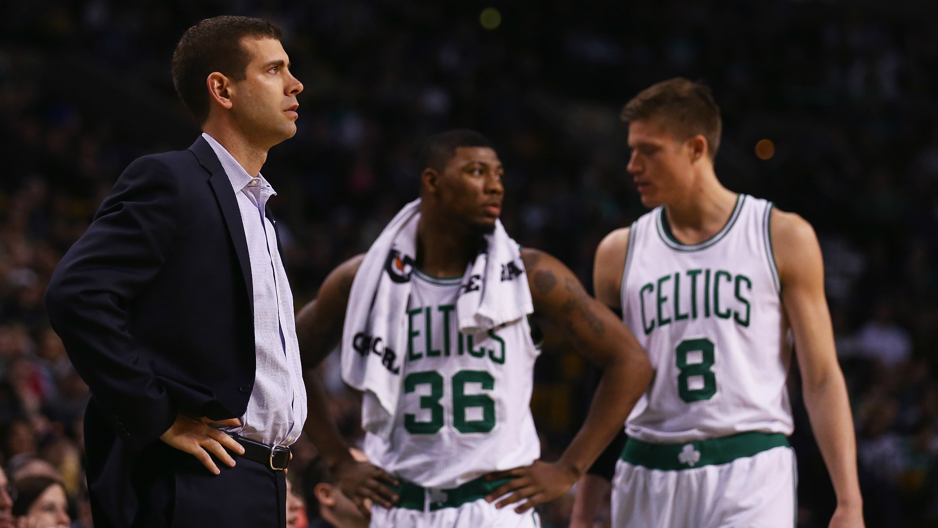 Celtics' Brad Stevens: From 'clueless' to NBA coaching elite