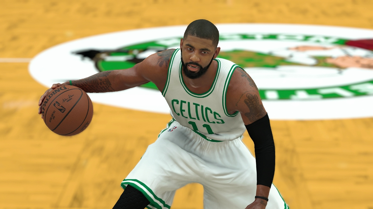 kyrie irving trade throws wrench into nba 2k18 cover plans nba