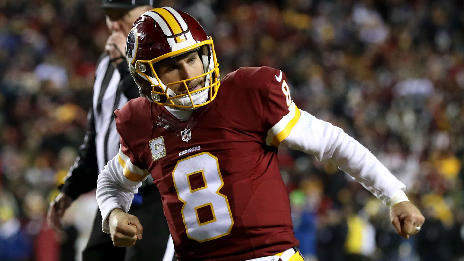 Kirk Cousins Screams Into Redskins GM's Face After Win Over Packers