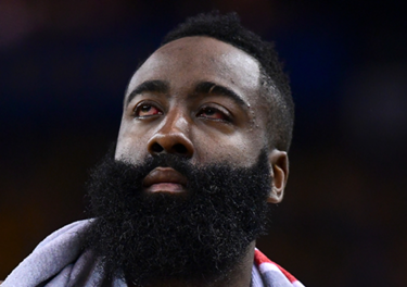 bea3603a5453 James Harden s eye injury leads to plenty of memes from NBA Twitter