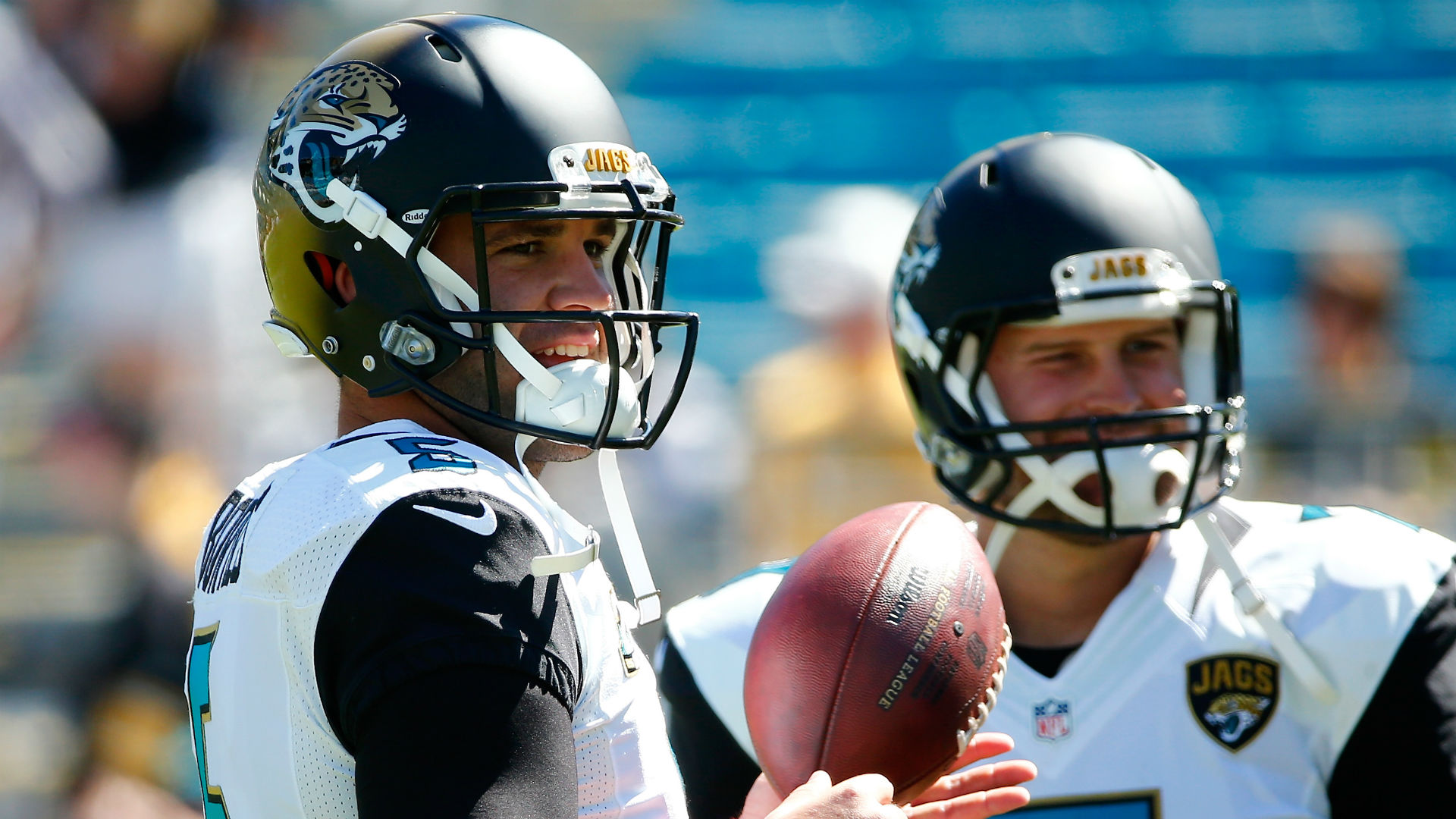 Doug Marrone opens Jags' QB race between Blake Bortles, Chad Henne
