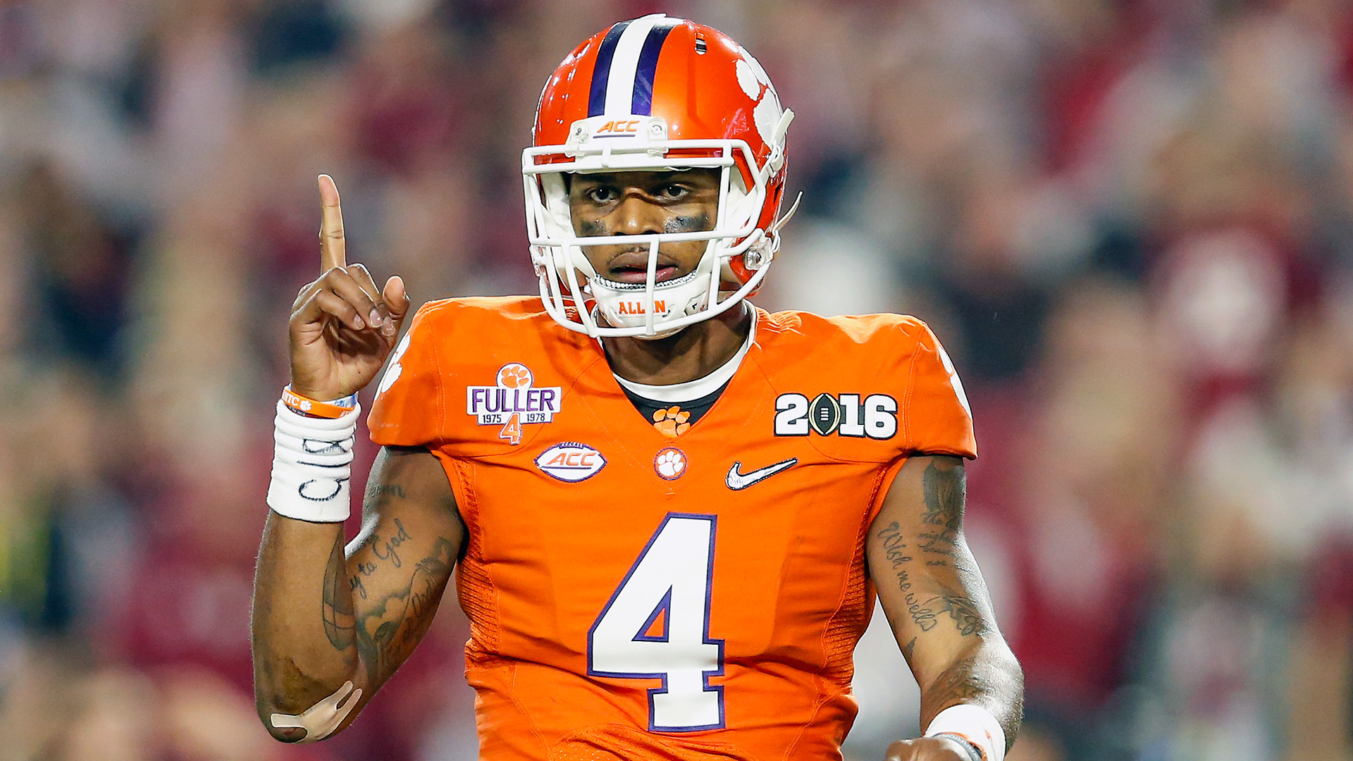 Football Rankings For Playoffs >> Deshaun Watson's subtle guarantee exactly what Clemson needs | NCAA Football | Sporting News