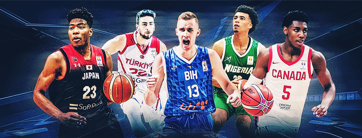 21 players under 21 who are starring in the FIBA Basketball World Cup Qualifiers