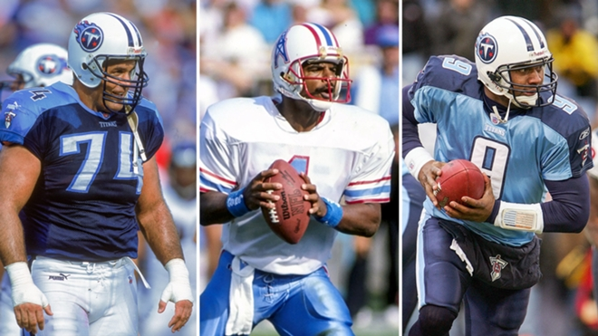 Top Tennesse Titans Houston Oilers Players
