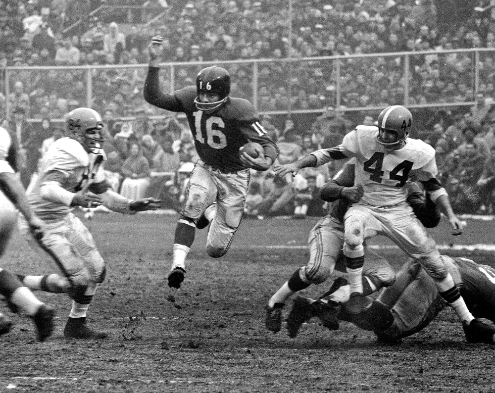 Classic photos of Frank Gifford