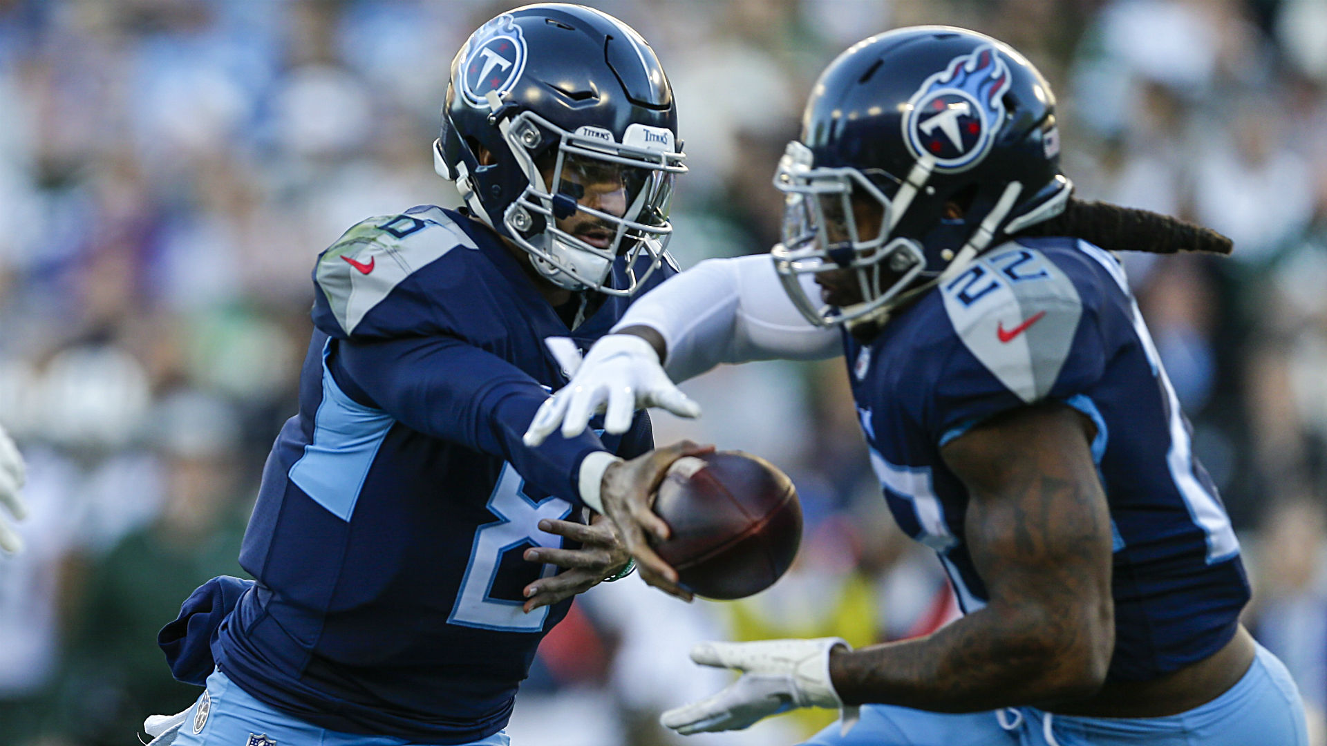 Henry's record night sparks Titans' rout of Jags