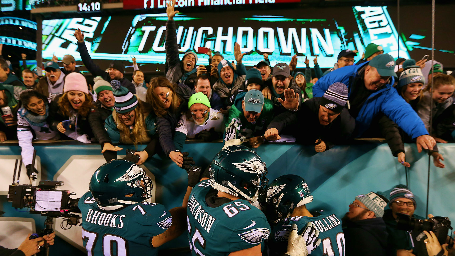10 craziest moments in Philly after Eagles clinch Super Bowl berth ... 4ba60c18d