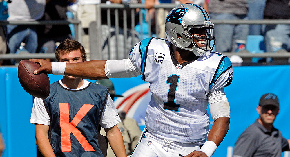 Fantasy Football Studs, Duds: Newton explodes for four TDs