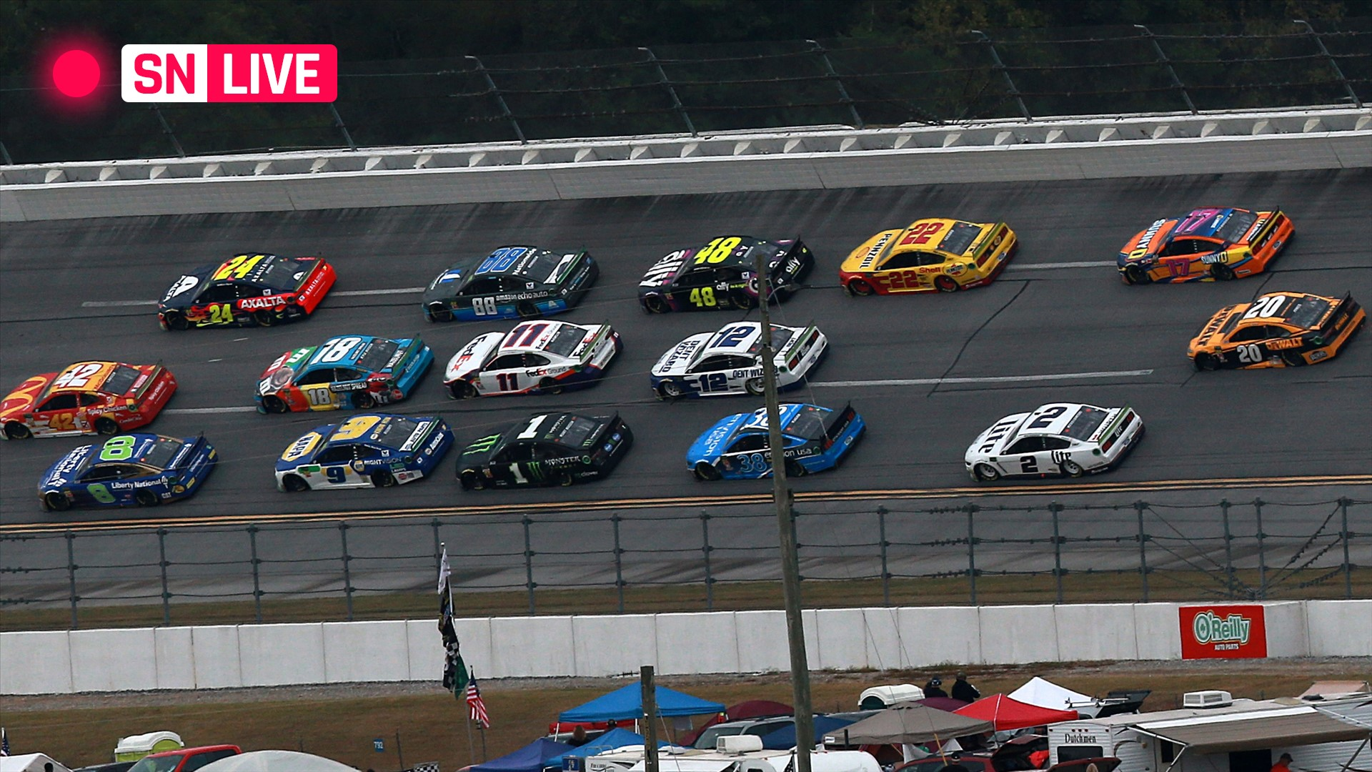 NASCAR at Talladega: Live race updates, results, highlights from Monday's race