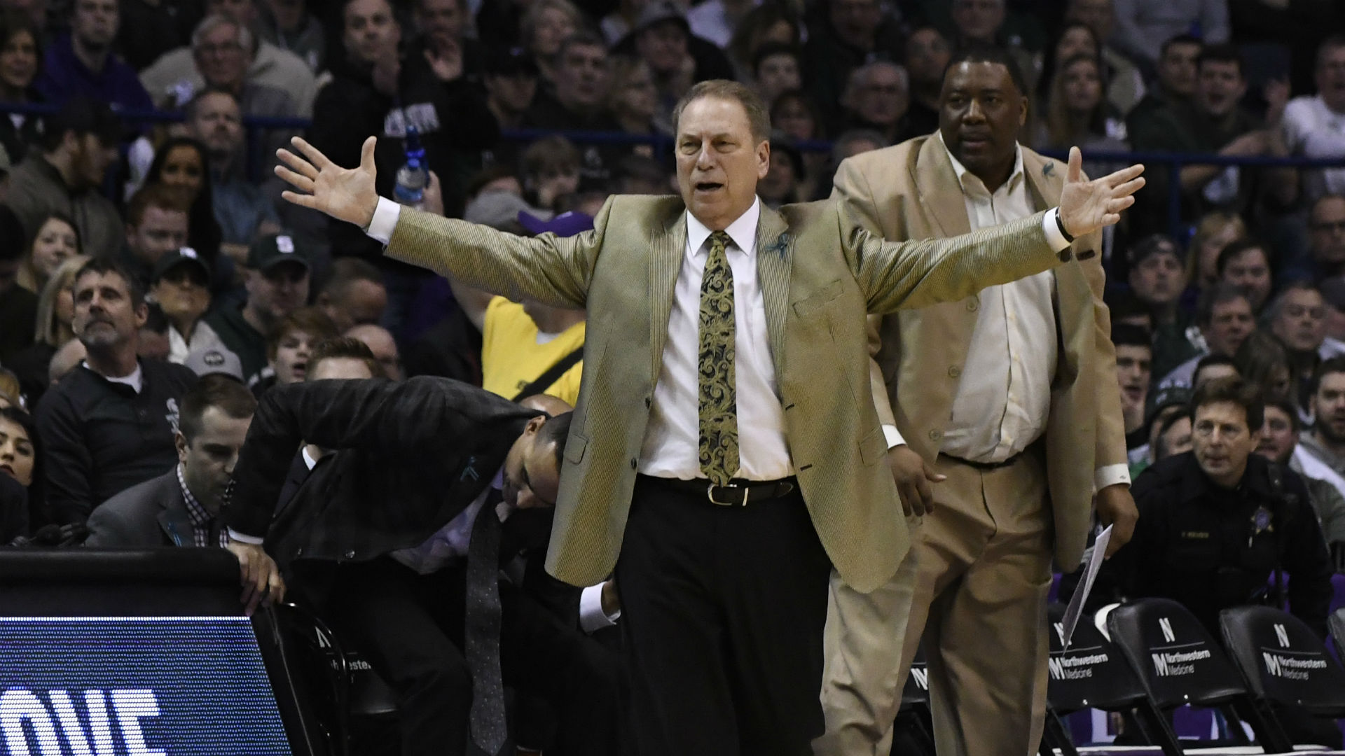 Tom Izzo doesn't want to live through another Michigan State comeback like this - NCAA Basketball - Sporting ...