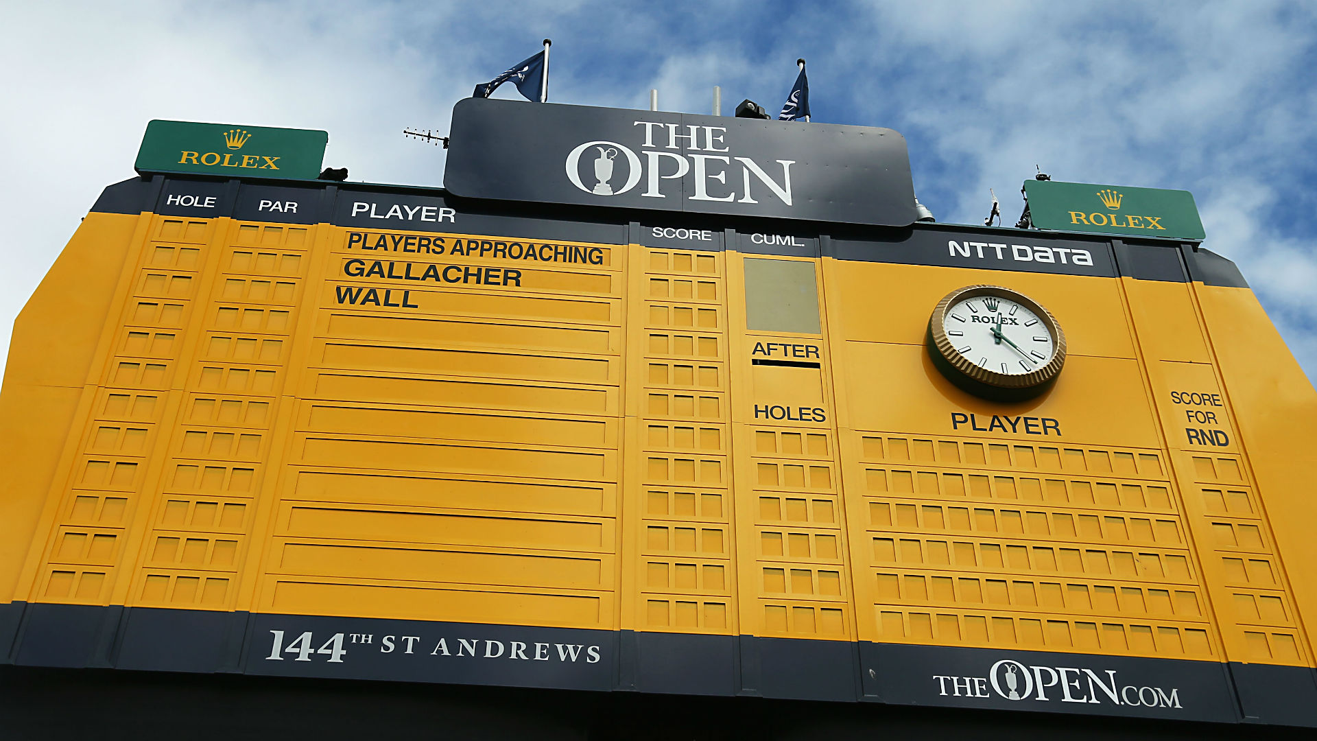 looking for british open scores  check sporting news