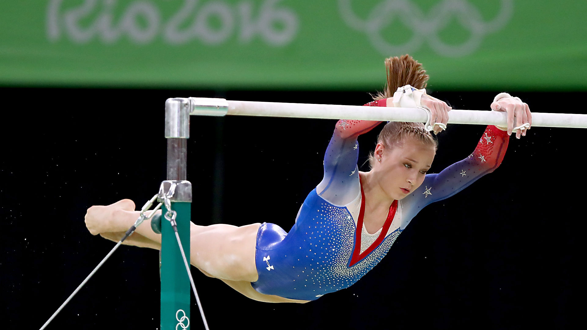 Rio Olympics 2016: Madison Kocian takes silver in uneven bars; Gabby Douglas finishes seventh ...
