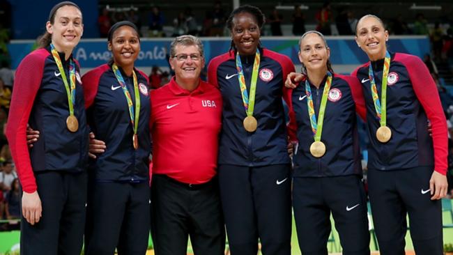 Team USA women's Basketball