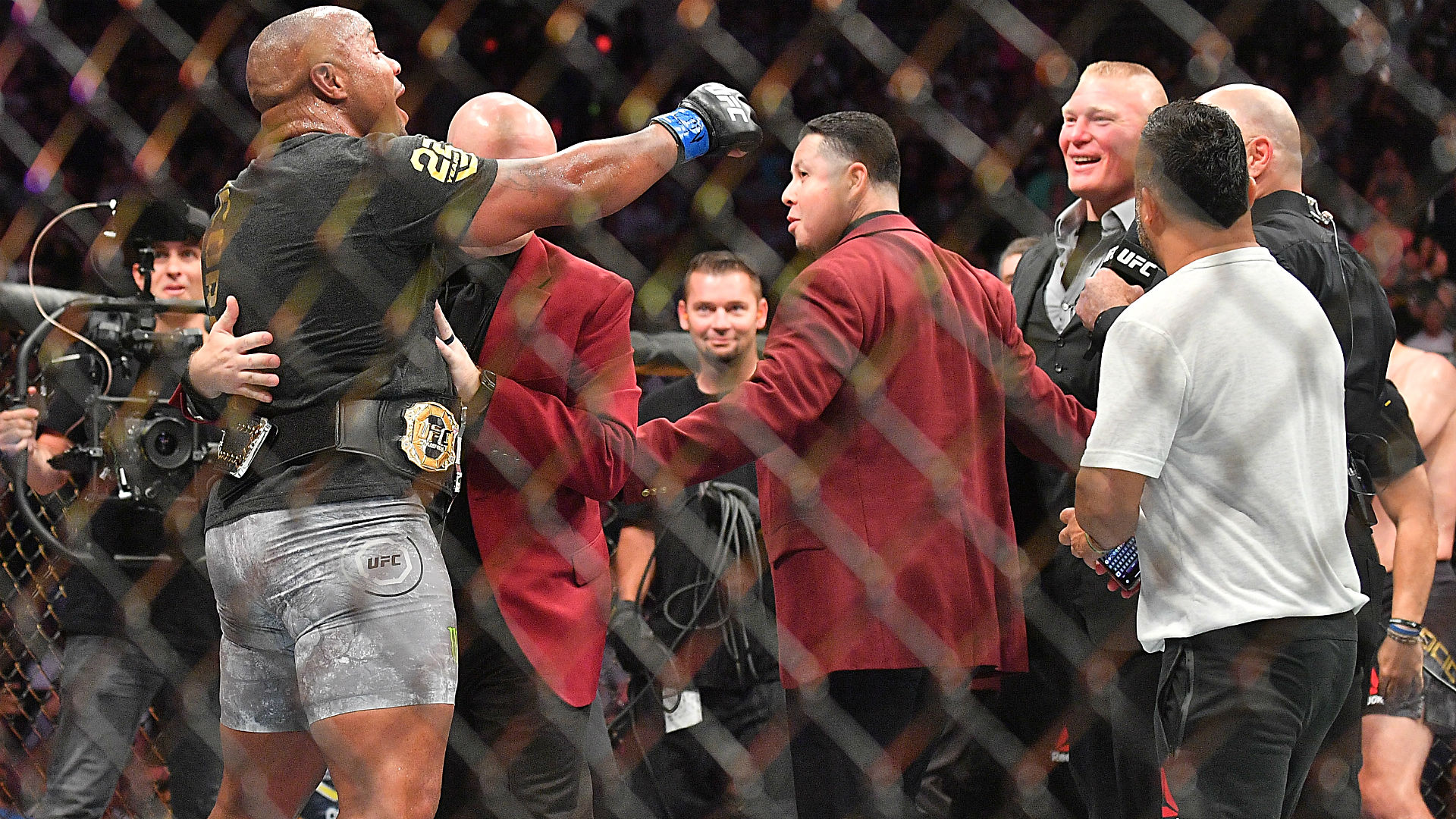 Daniel Cormier vs. Brock Lesnar has several potential dates for early 2019