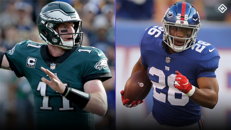 Fantasy Football Updates Carson Wentz Saquon Barkley Injuries