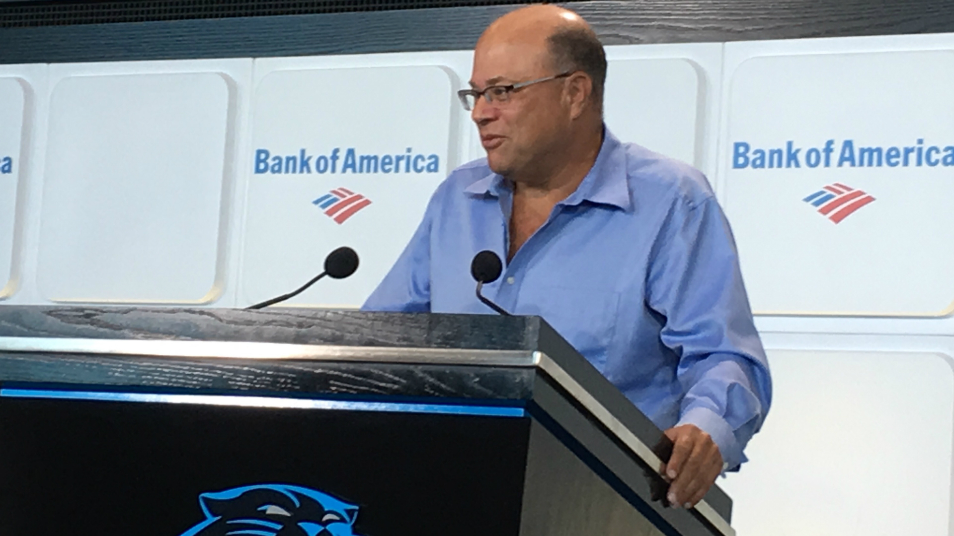 Panthers owner David Tepper talks plans for team, stadium development, more