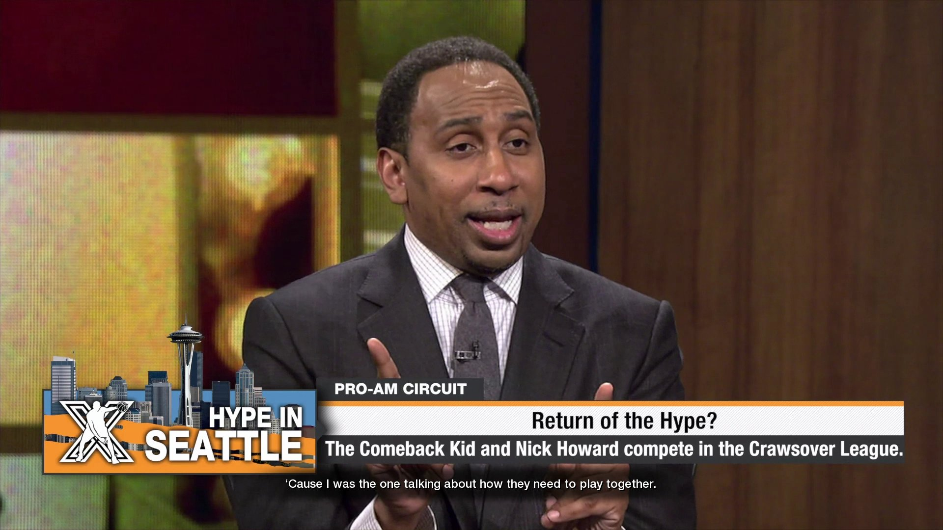 ESPN's Stephen A. Smith in