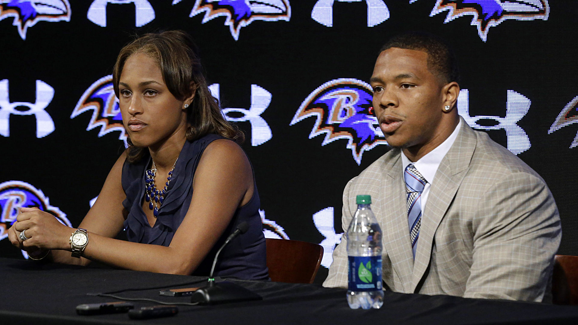 NFL suspends Ravens' Ray Rice two games