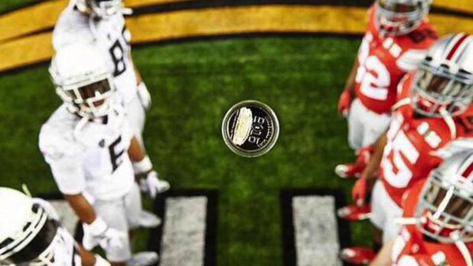 Incredible Coin Toss Photo From Osu Oregon Is Just A Nike Promo