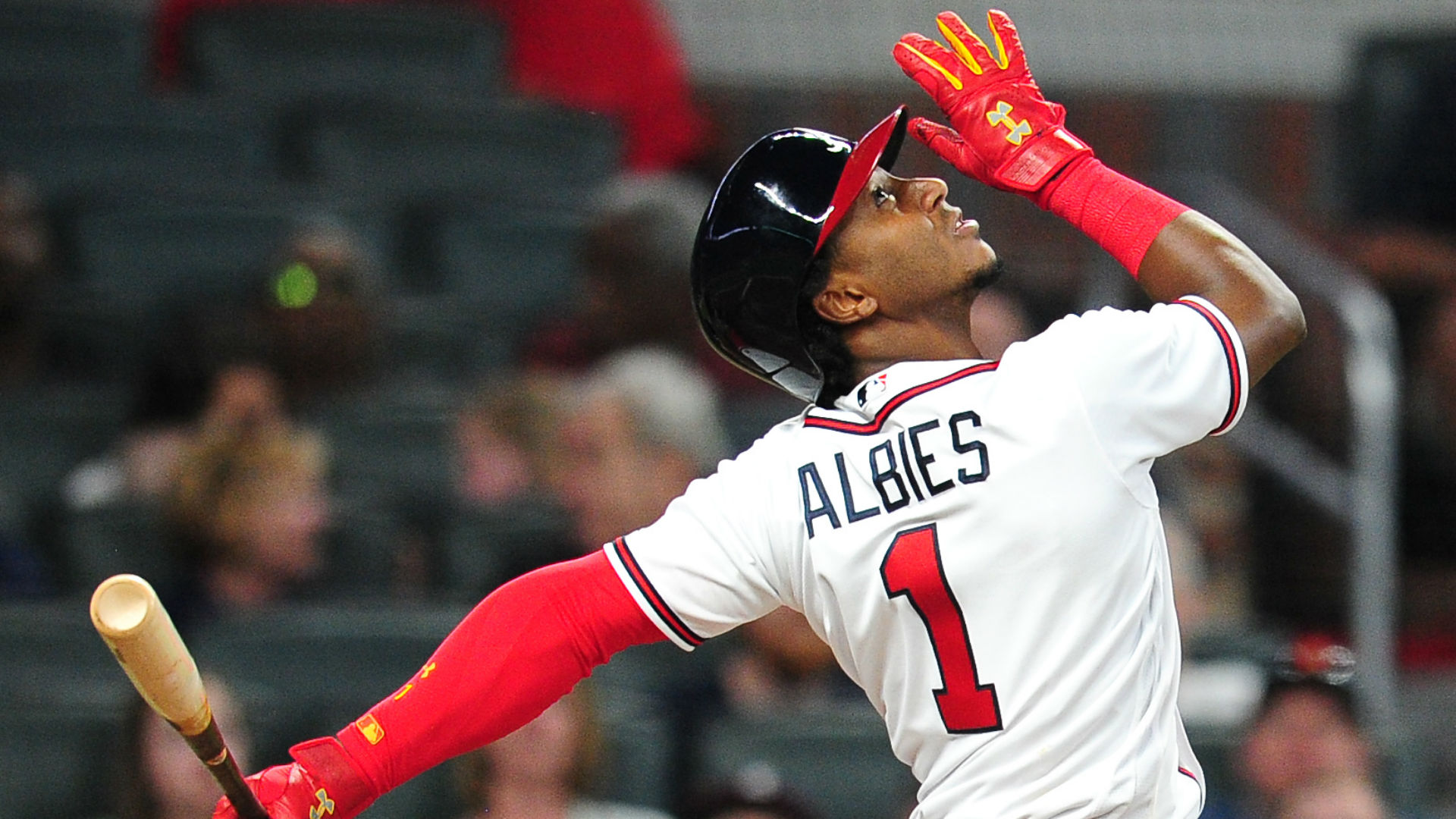 Ozzie Albies has been a big surprise for the Braves, but can his power surge continue?
