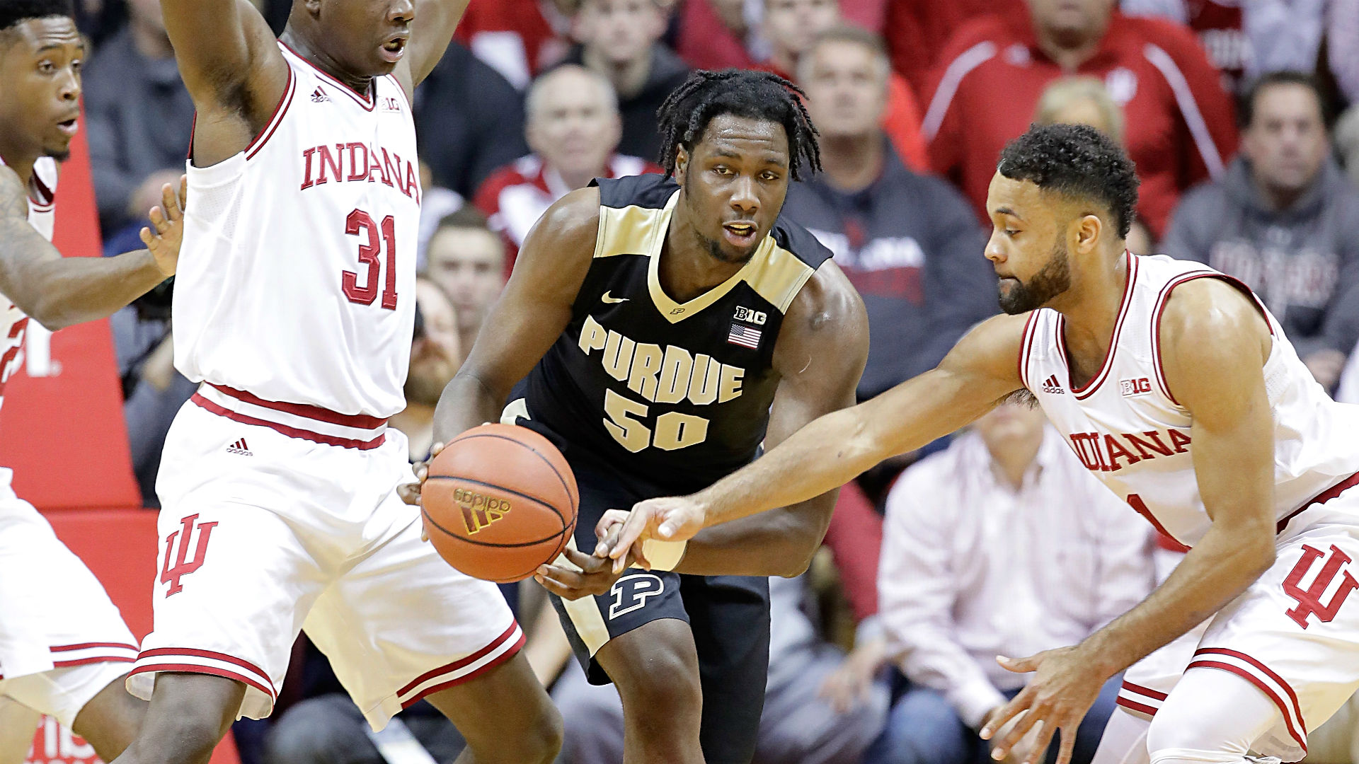 Purdue beats IU 69-64 at Assembly Hall