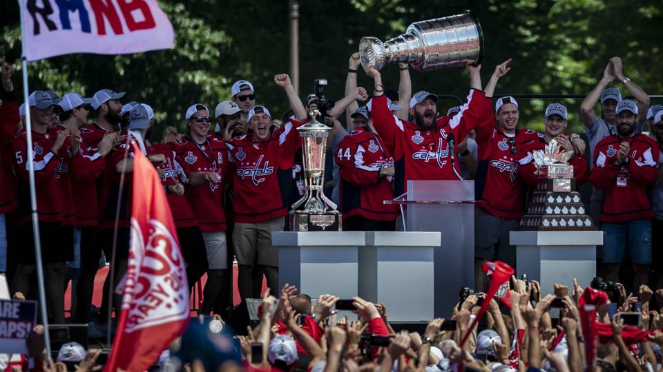 c1d9b4ad9a2 It s basically nuts!   Capitals celebrate with 100