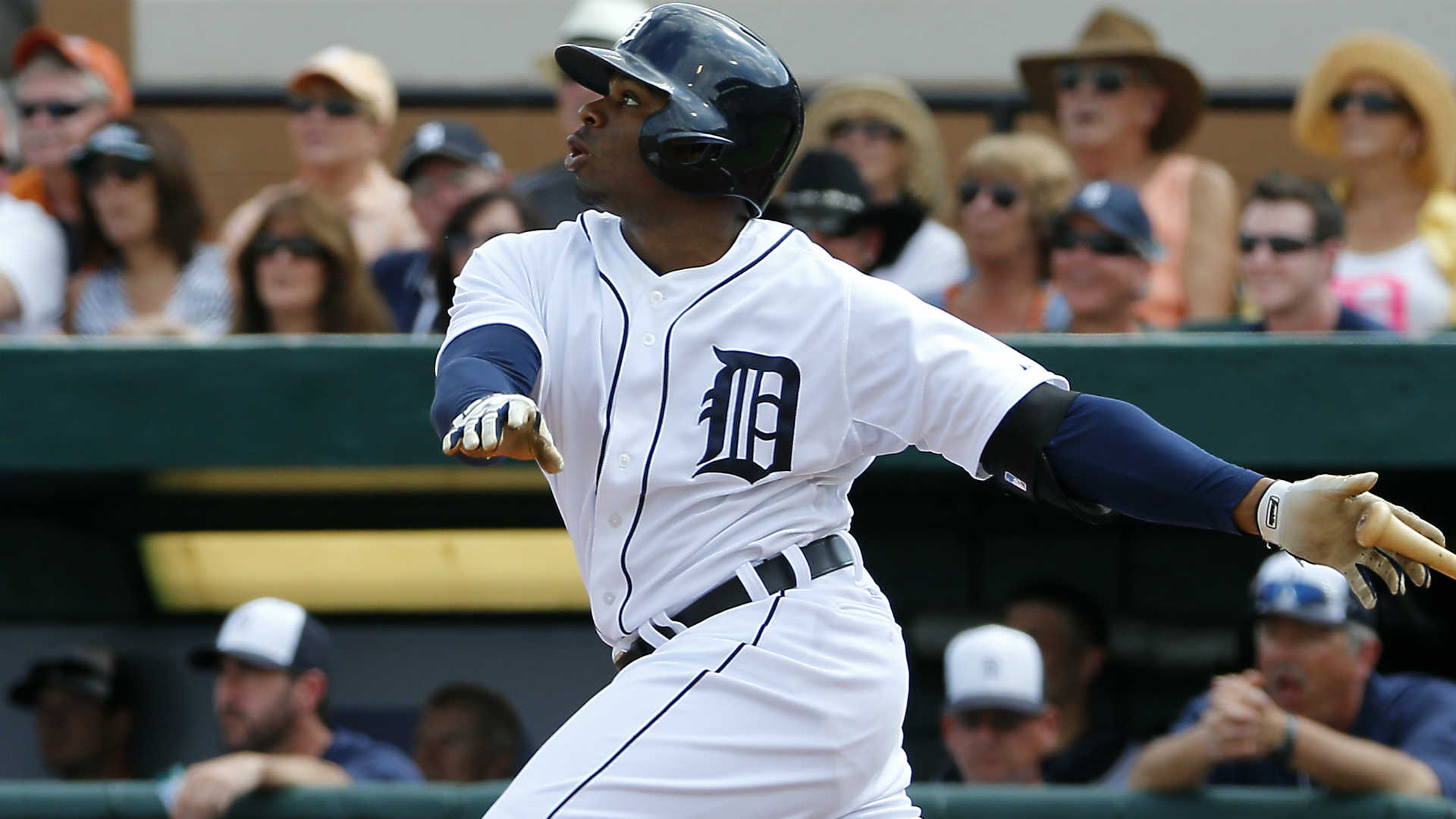 Tigers' Dirks needs back surgery; Rajai Davis wins again
