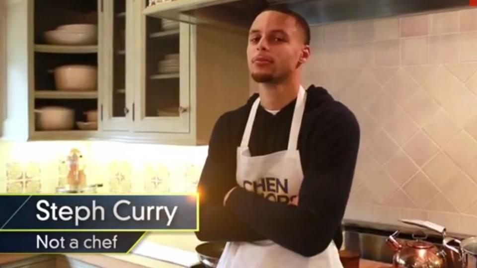 糟糕的廚藝!柯瑞:我老婆從不讓我進廚房幫忙,怕我把她的菜搞砸了!-Haters-黑特籃球NBA新聞影音圖片分享社區
