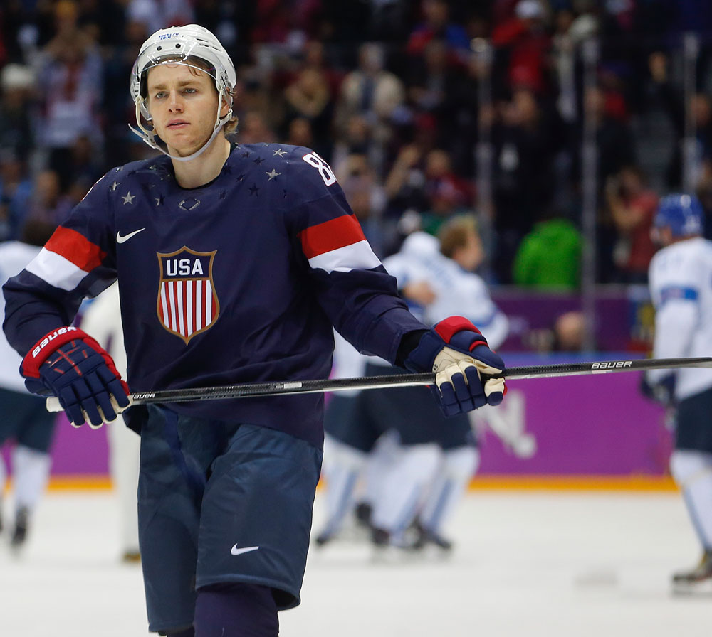 2014 Sochi Olympics: USA Loses To Finland 5-0, Misses On