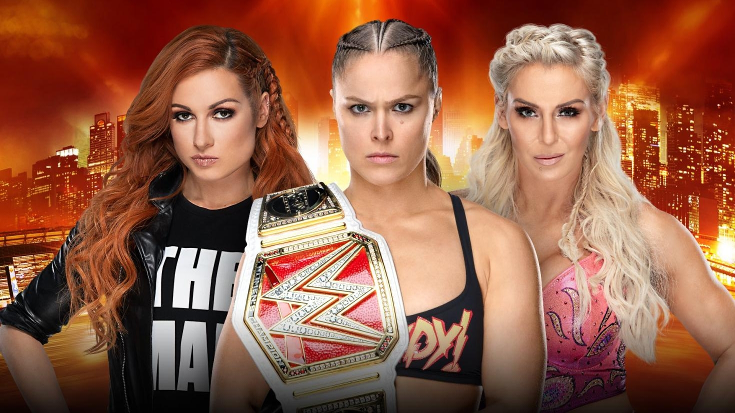 Ronda Rousey, Charlotte Flair, Becky Lynch to star in WrestleMania's first-ever women's main event
