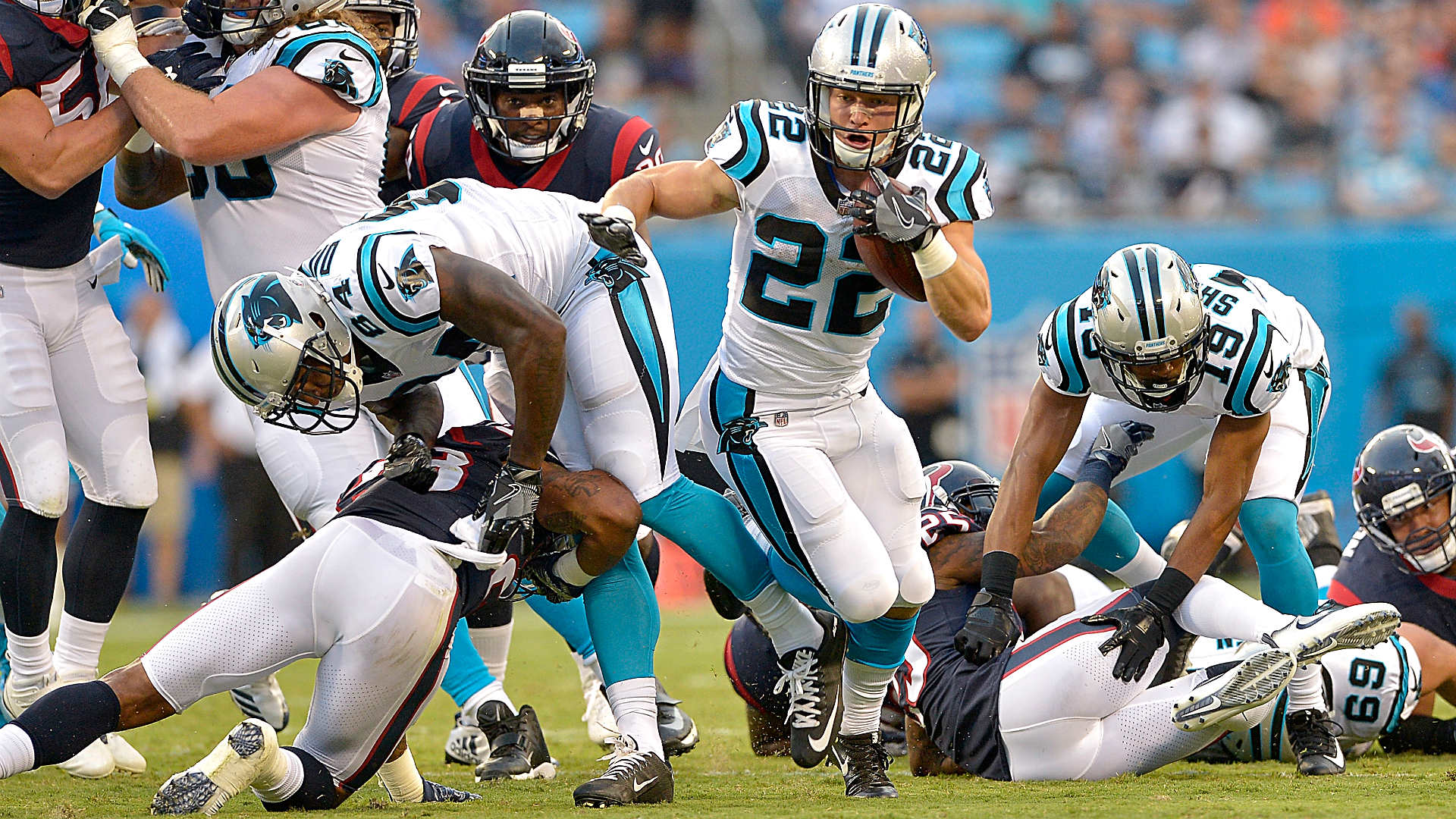 NFL Preseason Week 1: Texans at Panthers - Four Things To Watch For