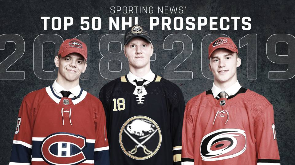 NHL prospect rankings: Top 50 players in NHL pipelines for 2018-19