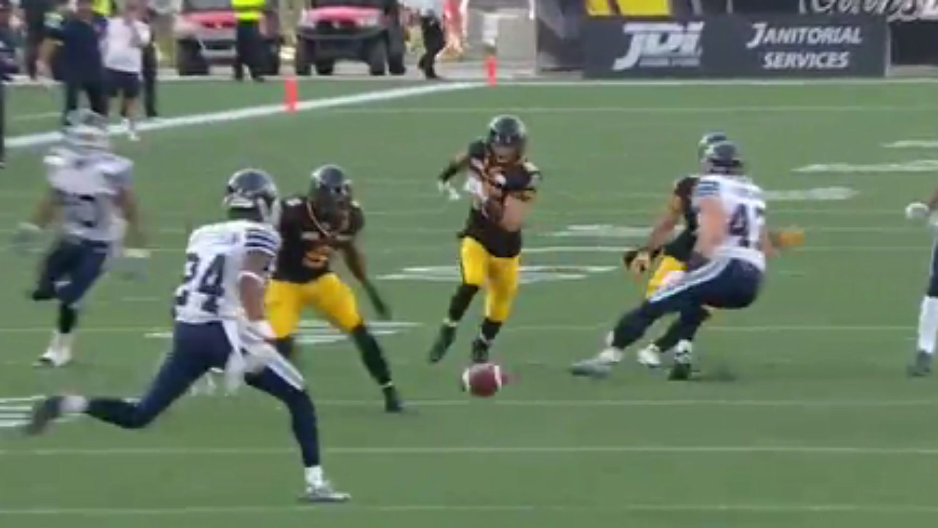 CFL's glorious rules allow Tiger-Cats to score with onside punt