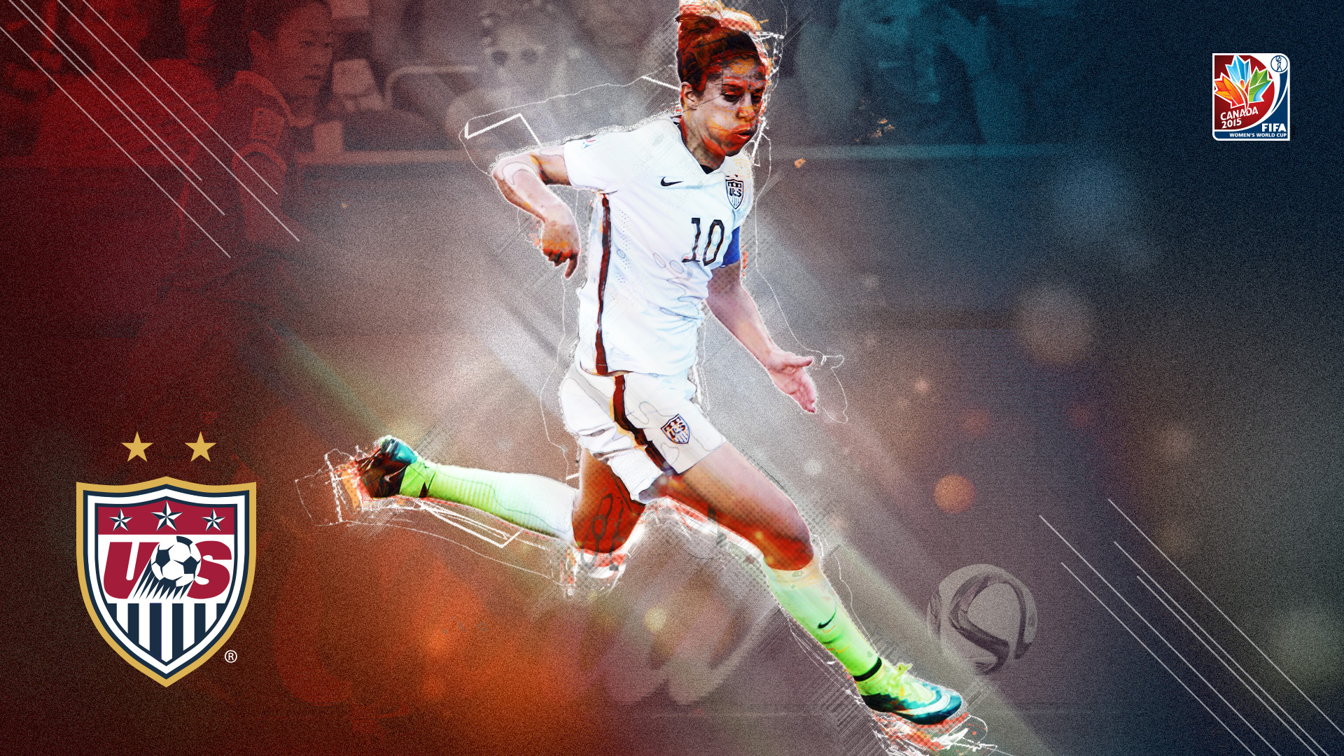 Carli Lloyd puts up a hat trick in the first 16 minutes of the USA's Women's World Cup final against Japan