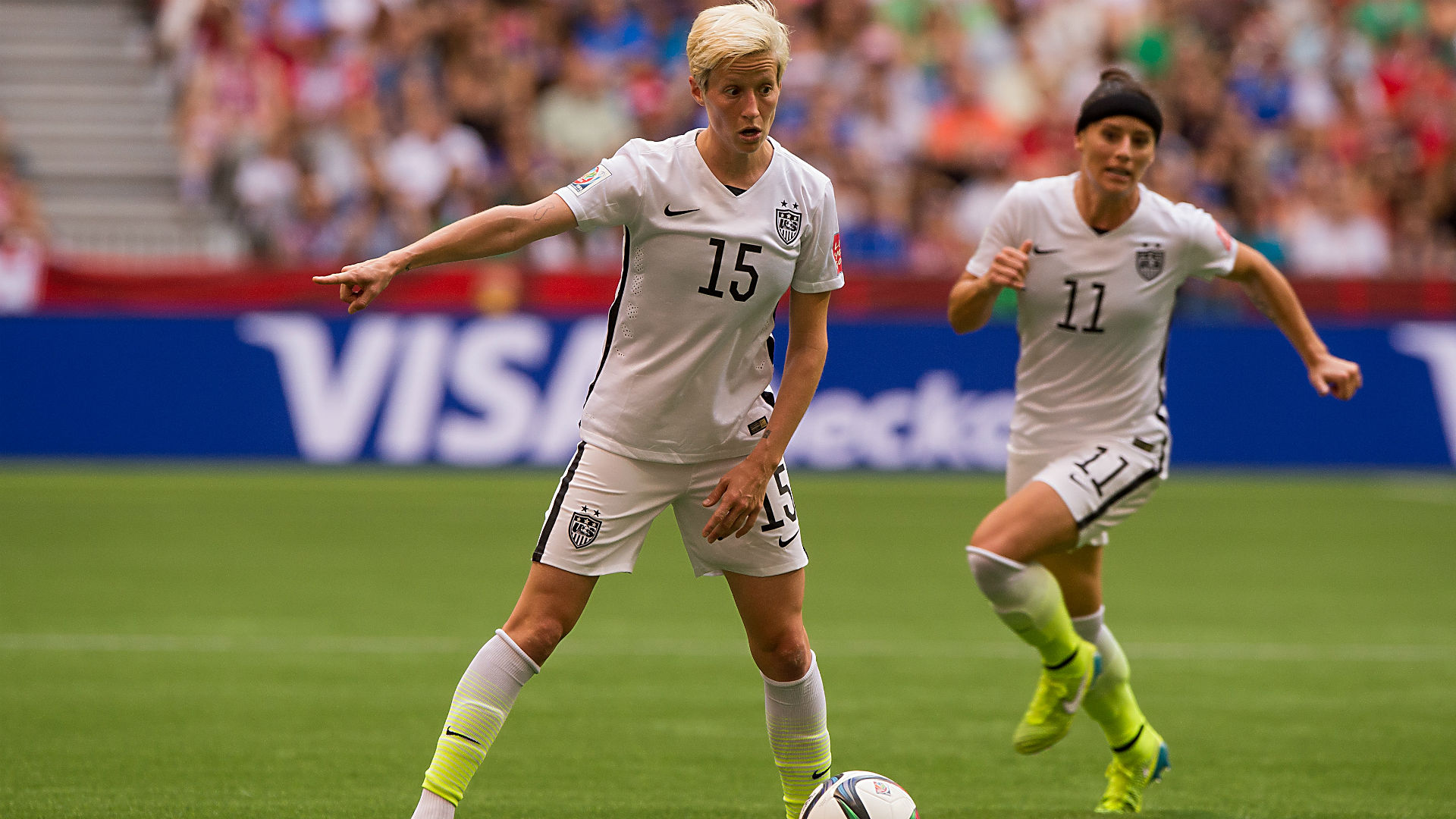 Megan Rapinoe - 061915 - Getty - FTR