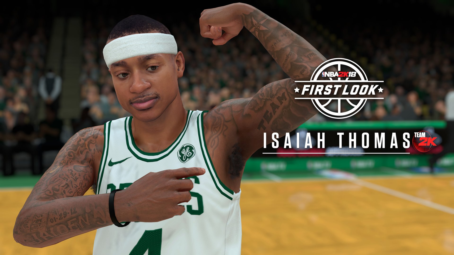 online store 559cb b6bab New Celtic jersey design revealed by NBA 2K18