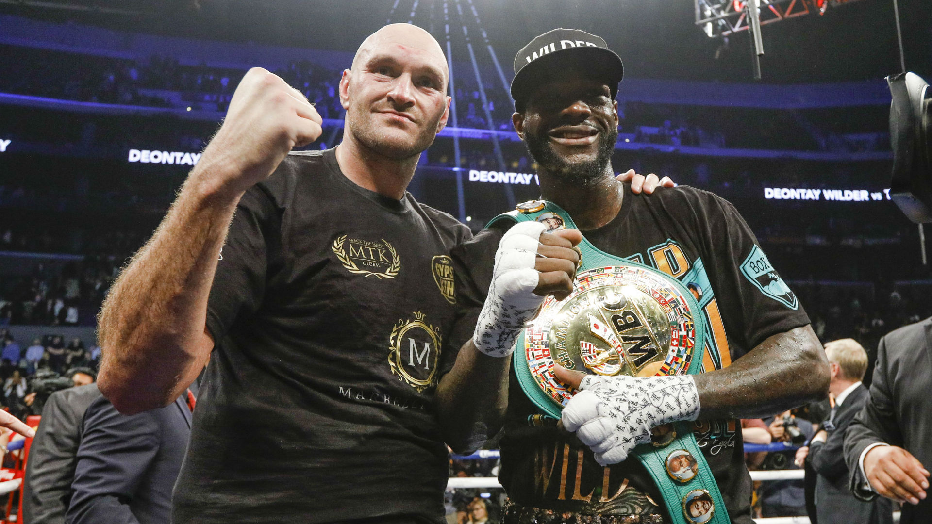Deontay Wilder vs. Tyson Fury fight