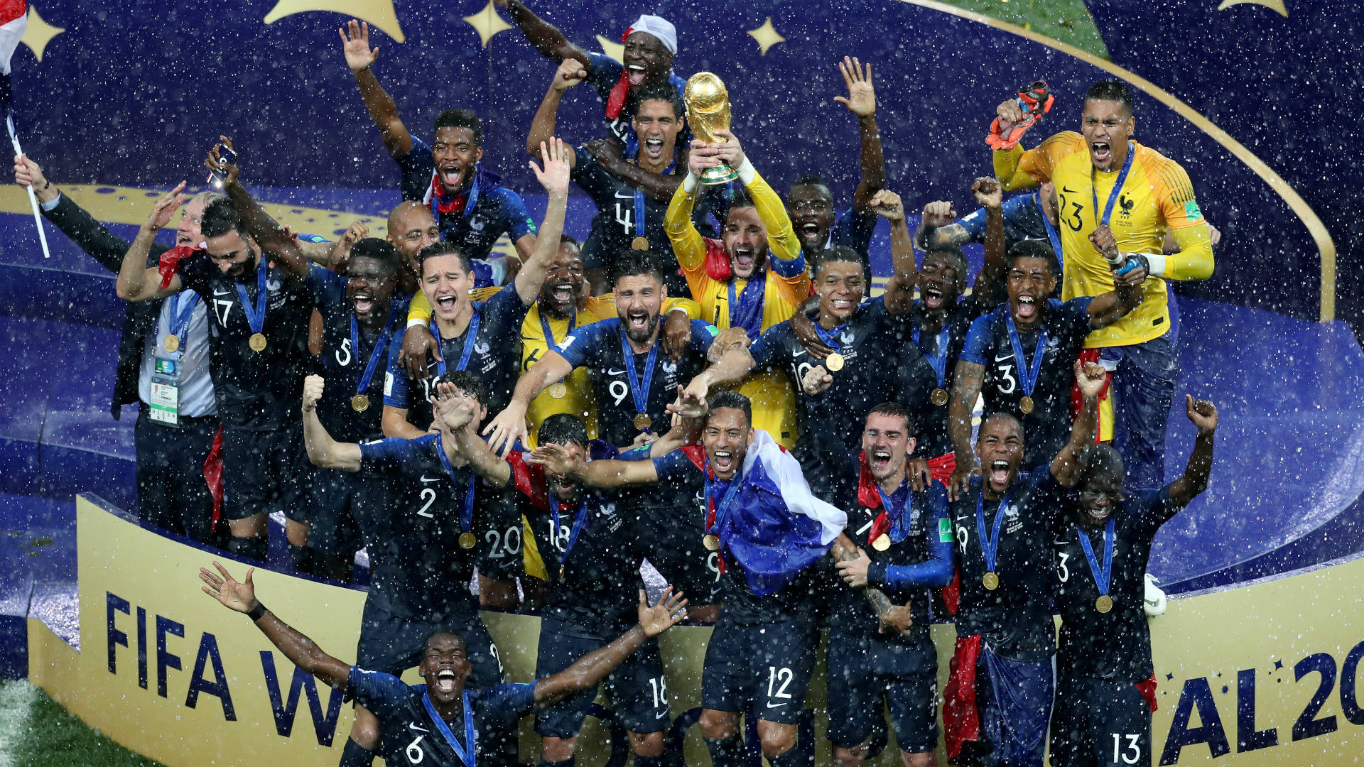 Croatia vs. France score: Highlights from World Cup final ...