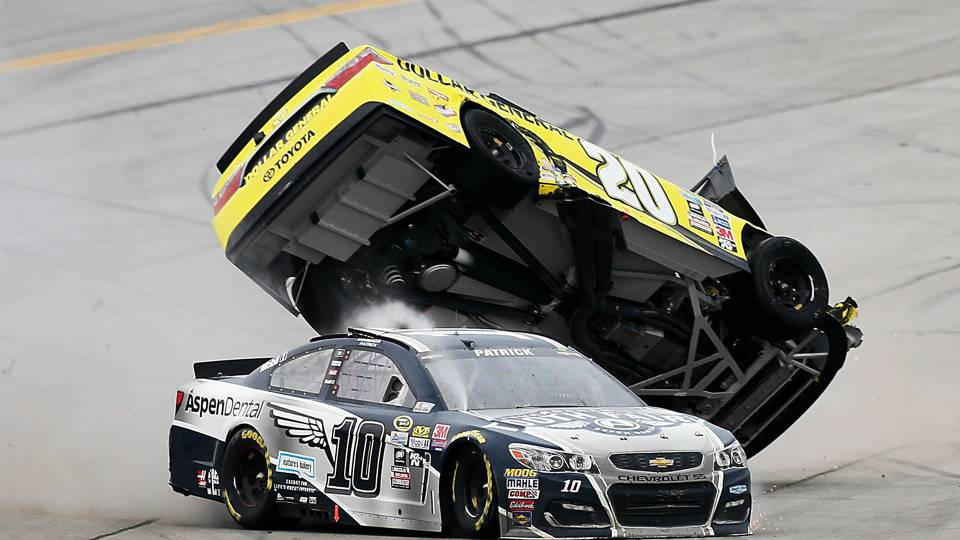 NASCAR dodges another bullet in frightening, crash-marred Talladega ...