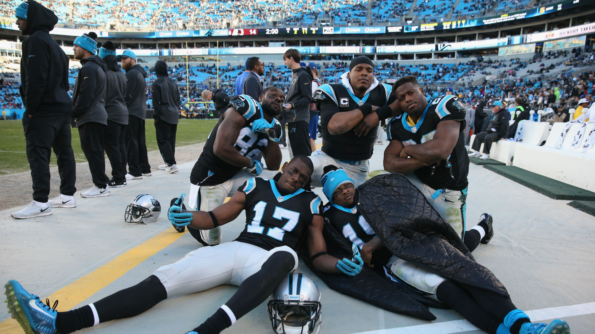 The Panthers Dont Have To Act Like Patriots