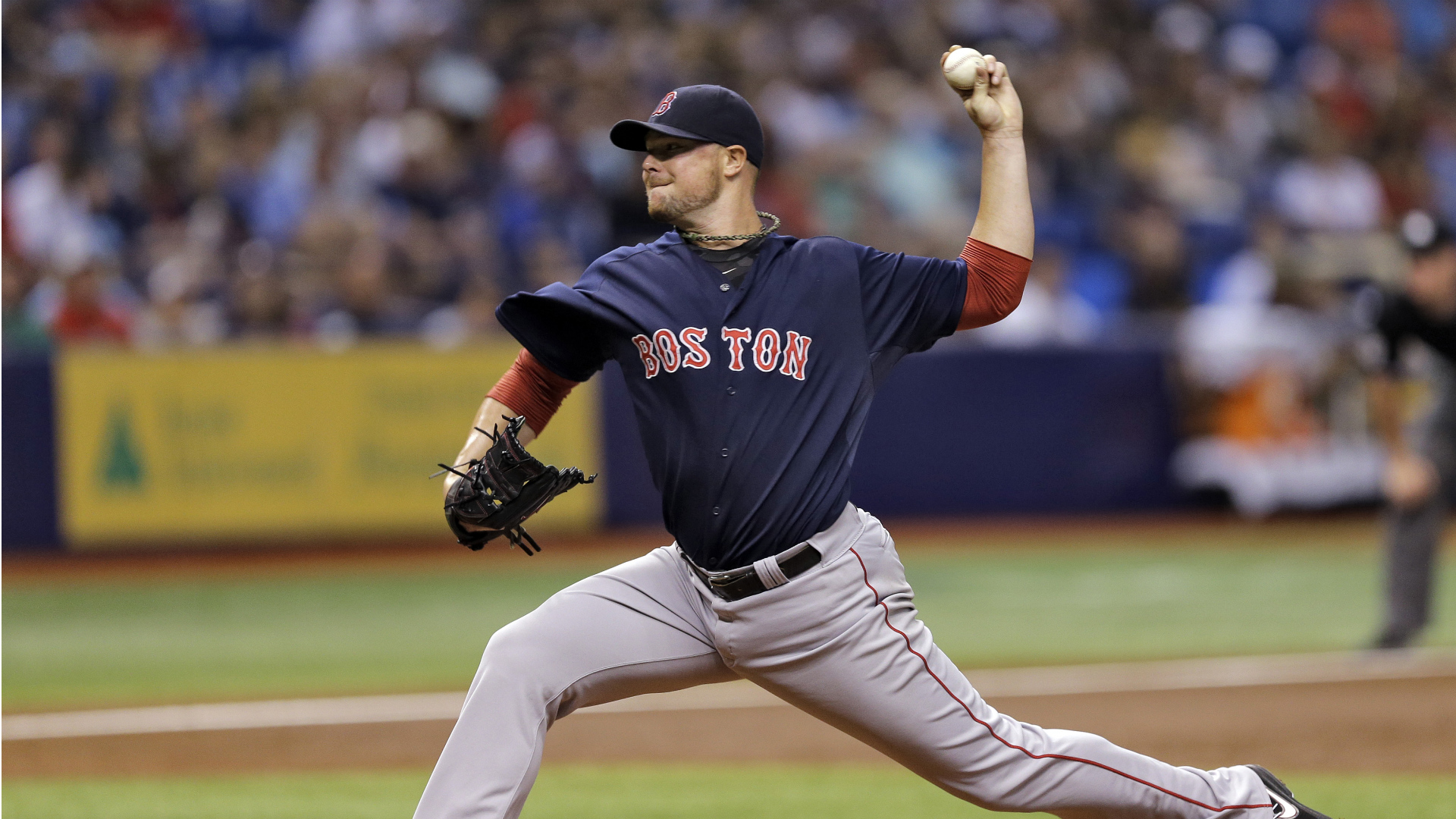 Red Sox trade Lester, Gomes to A's for Cespedes