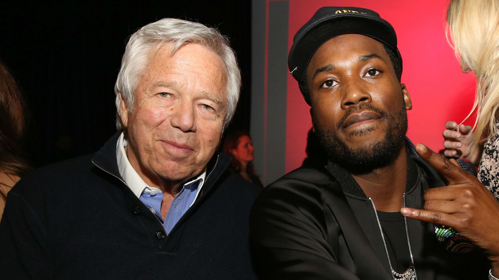 Patriots owner Robert Kraft visited rapper Meek Mill in prison